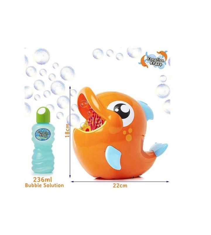 Pesce sparabolle - giocattolo adattato