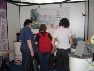 Stand Leonardo Ausili ISAAC 2009