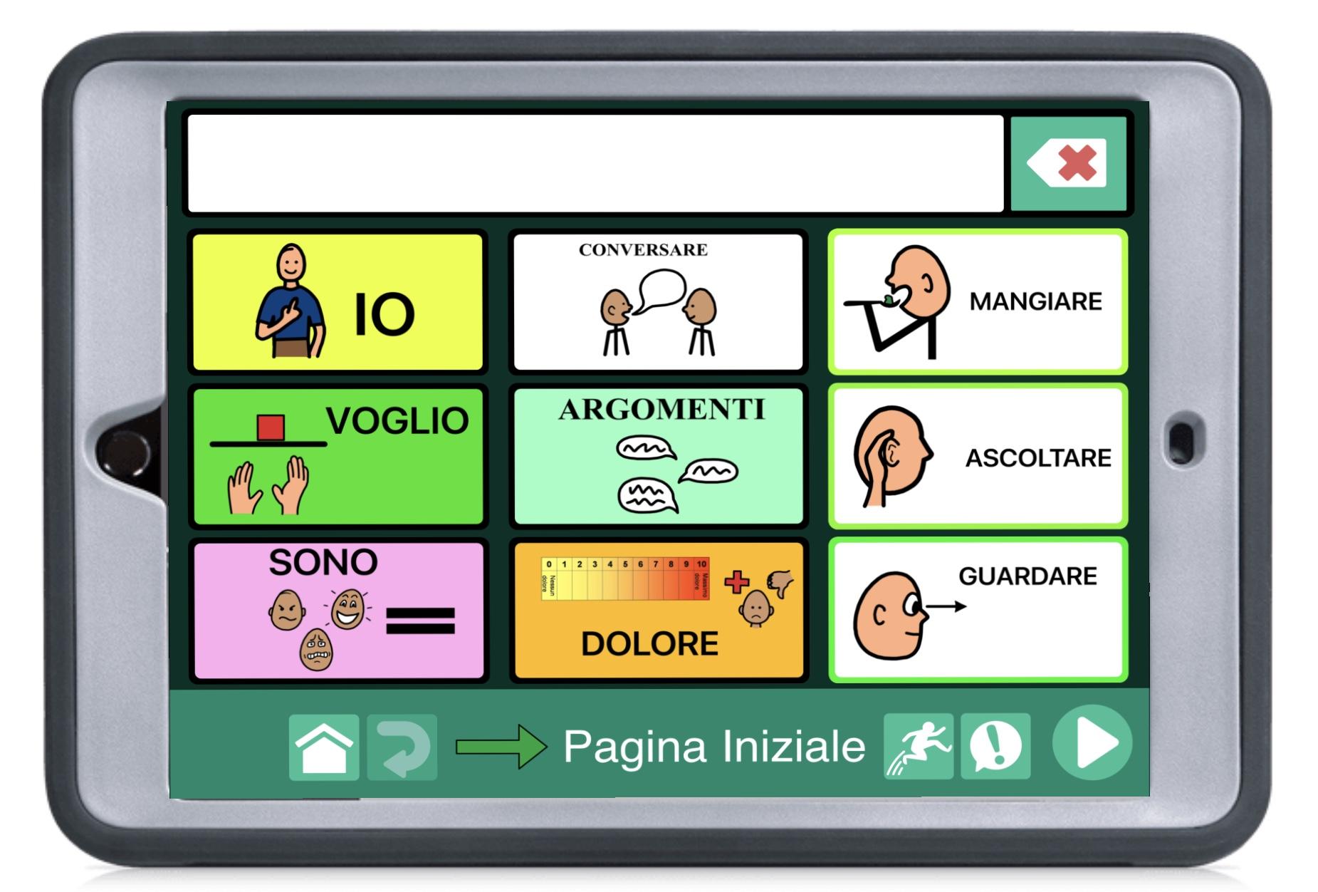 Speech case iPad