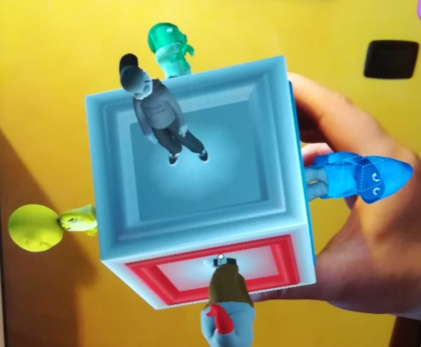 realtà aumentata comunikit autismo