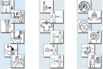 Librerie di simboli e di immagini a libera diffusione una risorsa per gli interventi di - Supposte per andare in bagno ...